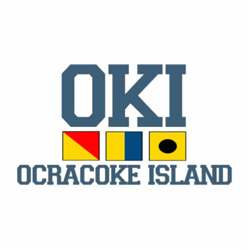Ocracoke Island. Acrylic Cut Outs