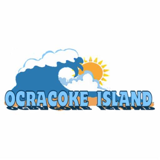 Ocracoke Island. Cut Out