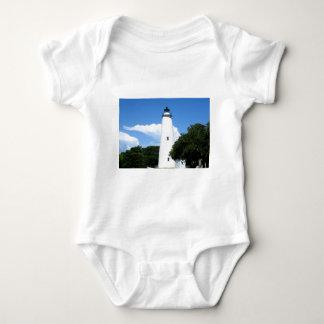 Ocracoke Lighthouse Baby Bodysuit