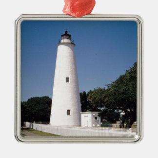 Ocracoke Lighthouse Christmas Ornament