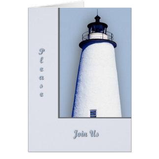 Ocracoke Lighthouse General invitation Greeting Card