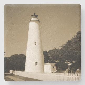 Ocracoke Lighthouse Stone Coaster