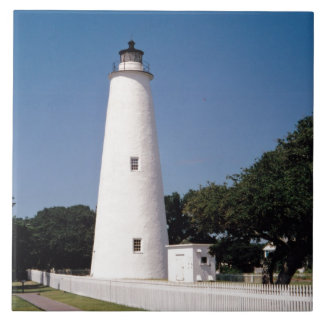 Ocracoke Lighthouse Tile