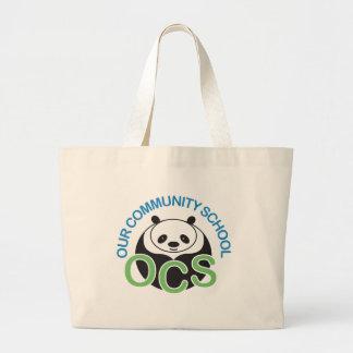 OCS Logo Jumbo Tote Bag