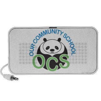 OCS Logo Speaker