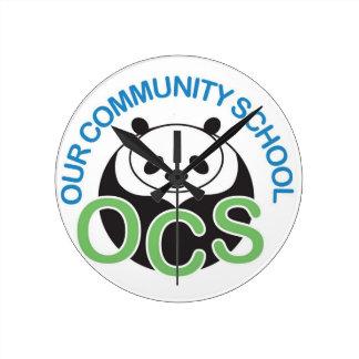 OCS Logo Wall Clock