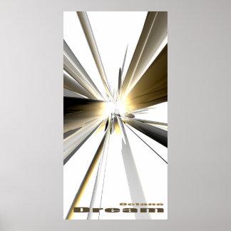 Octane Dream (Beige) Poster