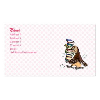 Octavian Owl Business Card Template