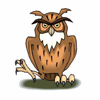 Octavius Owl Standing Photo Sculpture