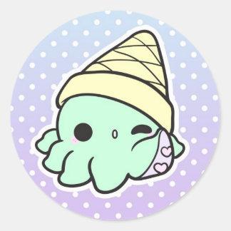 Octi-Cream Sticker