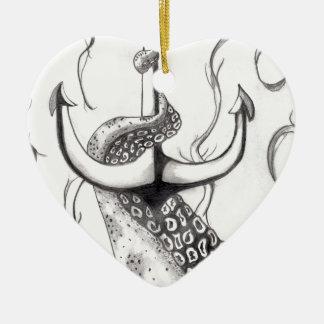 Octo Anchor Christmas Ornament