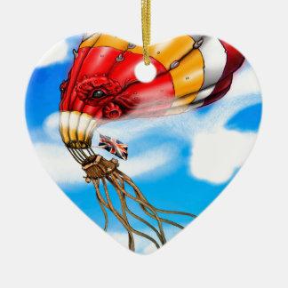 Octo-Balloon Christmas Ornament