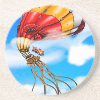 Octo-Balloon Drink Coasters
