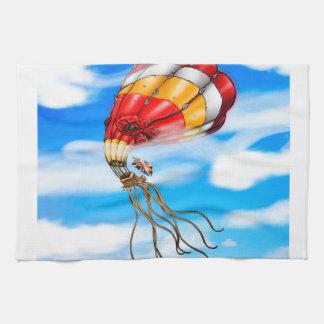 Octo-Balloon Tea Towel