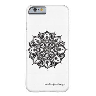 Octo-Petal Mandala iPhone Case