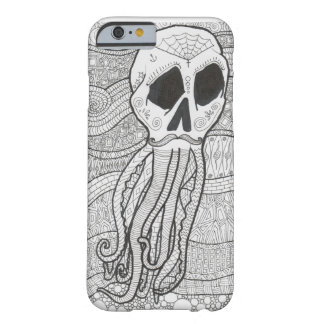 Octo Skull Zentagles for iPhone 6 case Barely There iPhone 6 Case