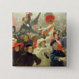 October 17th, 1905 15 cm square badge