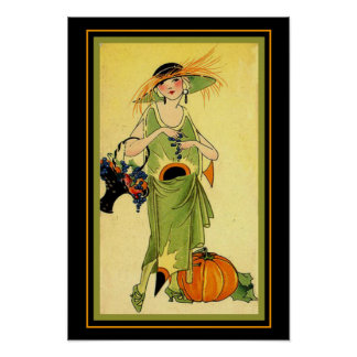 October 1922 Art Deco Print 13x19