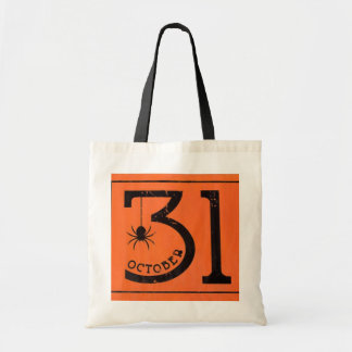 October 31 tote bags