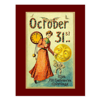 October 31 post card