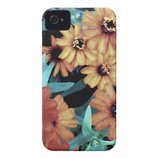 October Autumn Flowers Harvest Thanksgiving Case-Mate iPhone 4 Case