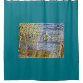 OCTOBER BIRD Shower Curtain