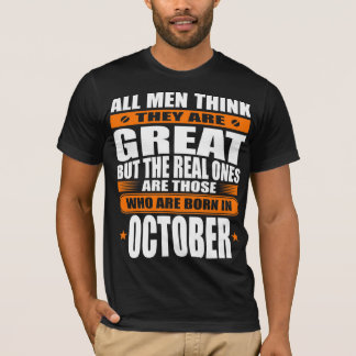 October Birthday T-Shirt