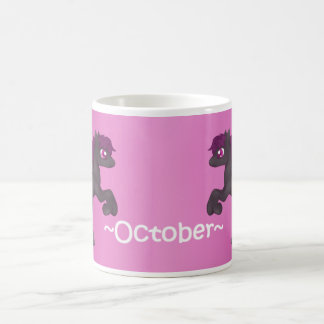 October Birthstone Pegasus Pony Mug
