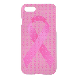 October Breast Cancer Awareness Month Pink Ribbon iPhone 7 Case