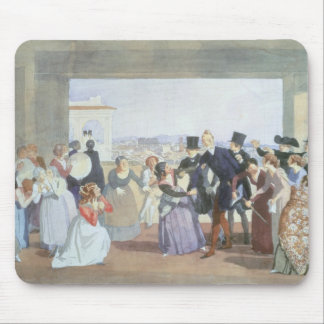 October Celebration in Rome, 1842 Mouse Mat