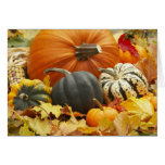 October Decoration Greeting Card