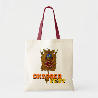 October Fest, Cuckoo clock Tote Bag