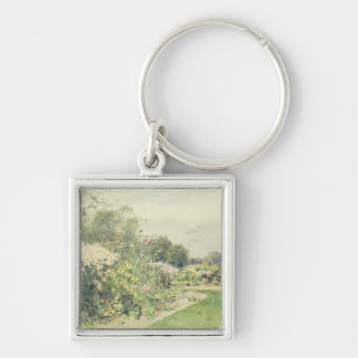 October Flowers Key Ring