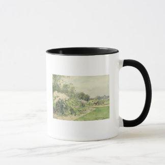 October Flowers Mug