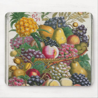 October, from 'Twelve Months of Fruits' Mouse Pad
