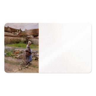 October Garden Business Cards