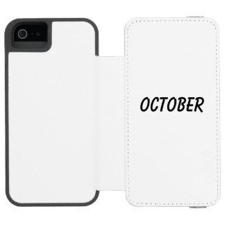 october incipio watson™ iPhone 5 wallet case