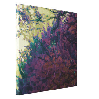 October is Eternal first of a three part series Canvas Print