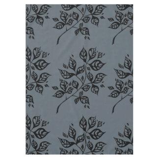 October Leaves Medium Tablecloth – Black & Slate