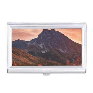 October Light on Headlight Basin Business Card Holder