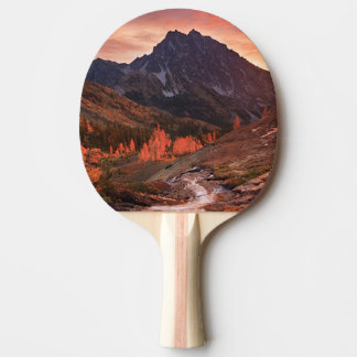 October Light on Headlight Basin Ping Pong Paddle