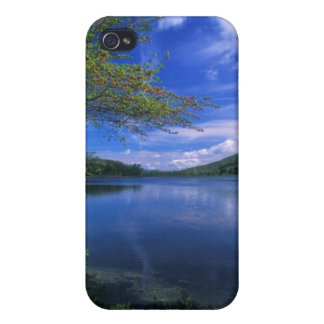 October Mountain State Forest Pond Cases For iPhone 4