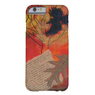 October Painting Robert Frost Poetry Barely There iPhone 6 Case