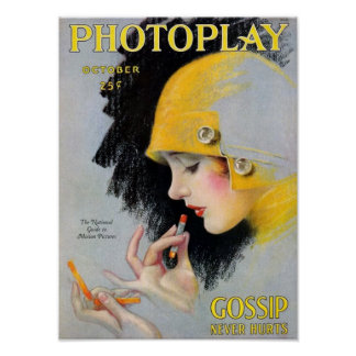 October Photoplay Poster