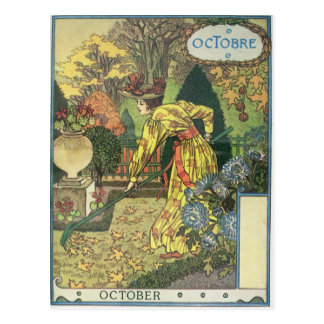 October Post Cards