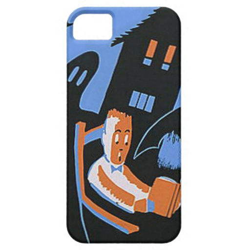 October Reading Library Halloween Poster iPhone 5/5S Covers