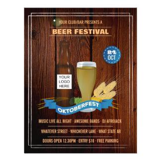 Octoberfest Club/Pub/Company personalized add logo Flyer