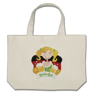 Octoberfest Mädchen Tote Bags