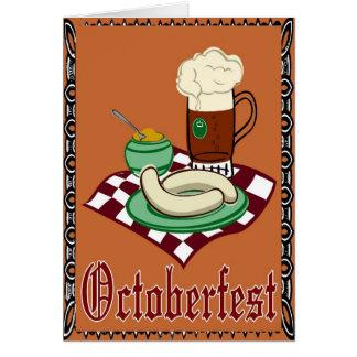 Octoberfest ,Oktoberfest,German Card