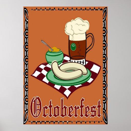 Octoberfest ,Oktoberfest,German Poster